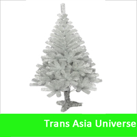 Hot Selling white outdoor lighted christmas trees