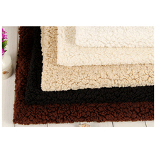 240gsm 144F 100% polyester weft knitted shu velveteen sherpa fleece fabric for garment home textile