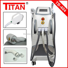 Super combination, Multi-function machine, Q-switch ND YAG laser SHR IPL beauty machine face wrinkle removal hair removal