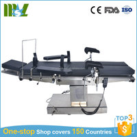 CE ISO Approved multi-purpose electrical portable medical operation table