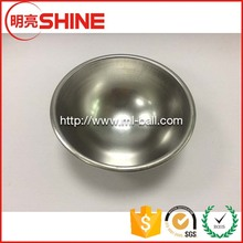 Wholesale Stainless Steel Hollow Half Ball For Decoration