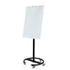 Adjustable height and angle glass whiteboard movable glass whiteboard magnetic board with function of absorbing of paper