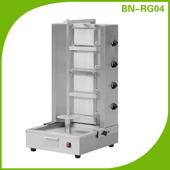 Commercial Gas Shawarma Machine/Doner Kebab Machine BN-RG04