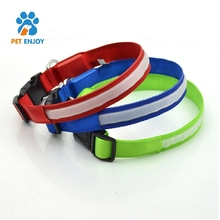 chinese new style Rechargeable LED Dog Safety Collar Puppy Pet Harness