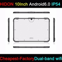 HIDON 10 Inch Rugged Tablets Android6.0 OS 2G ram+32G rom dual-band wifi IP54 Semi-Rugged Tablets