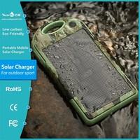 Portable handphone Solar laptop Charger for tablet laptop Solar power bank waterproof