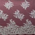 HOT ! 2015 NEW design ivory alencon lace fabric