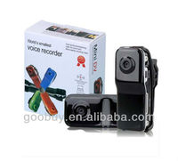 2013 Christmas promotion lowest price MD80 waterproof mini DV mini dv md80 manual