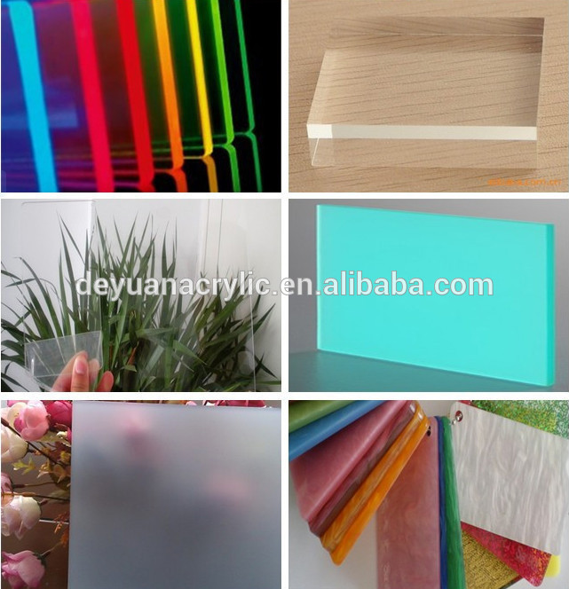 wooden stripe acrylic sheet high glossy decoration material