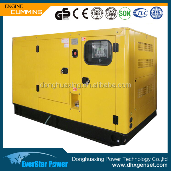 Factory sale silent type 30kva diesel generator price with CE/ISO