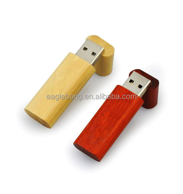 free sample High Quality flash drive usb wooden with box for gift