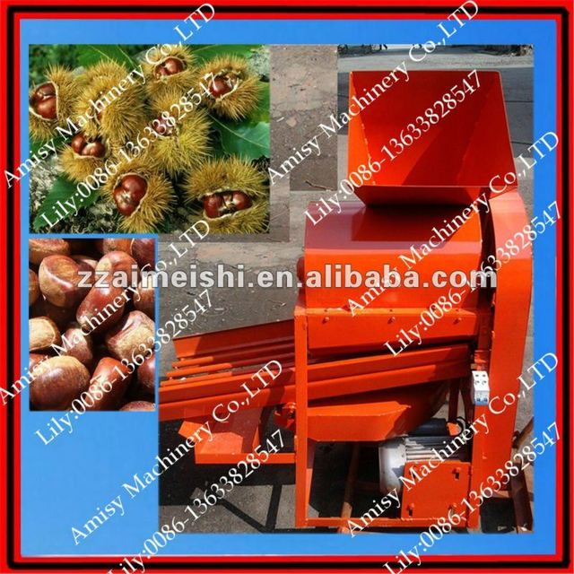 CHESTNUT Thorn Shell Removing Machine 0086-136 3382 8547