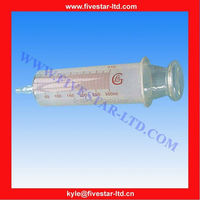 syringe catheter tip Large Glass Enema Colonic Irrigation Syringe 300ml