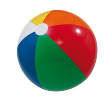 standard size pvc soft custom logo inflatable beach ball for promotional