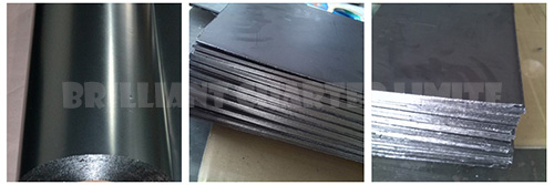 99.5% purity 0.03mm High purity pyrolytic Graphite Sheet 0.03-3mm