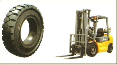 "SOLID TIRE ""KOMACHI"" NEW!! For forklift"