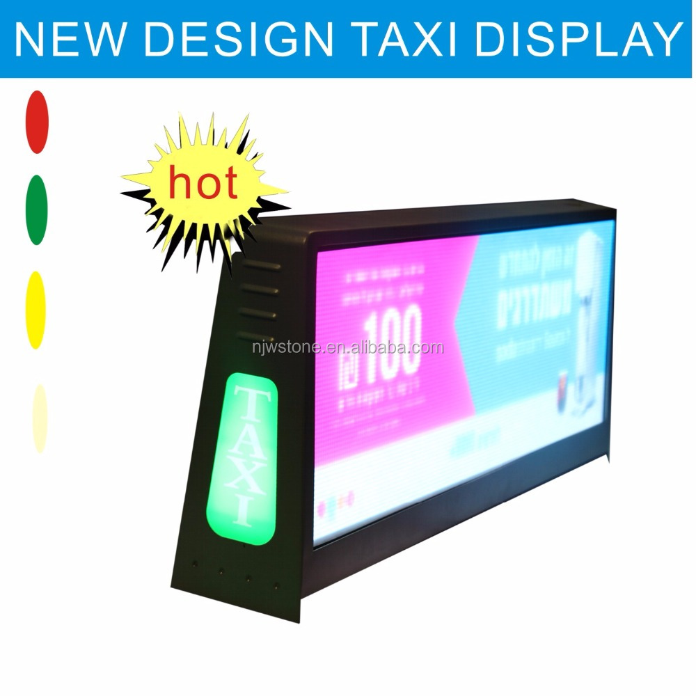 p4/p5 outdoor top quality slim taxi roof <strong>led</strong> <strong>display</strong>