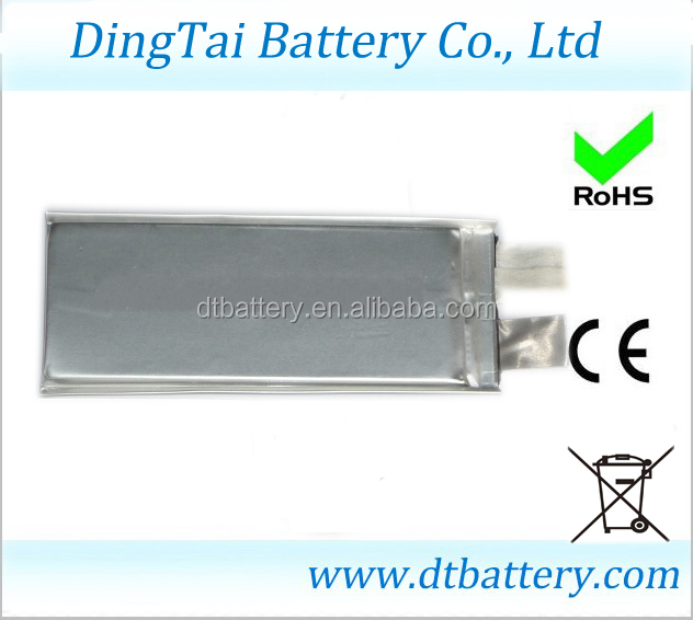 high discharge rate lipo 30C 3.7V 2600mah 6838120 lithium ion polymer battery punch cell