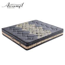 Chinese 7-zone pocket queen size star memory foam hotel bed spring mattress