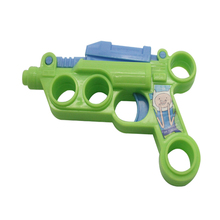 Cheap Plastic Mini Super Gun Toys With Spider Bullet