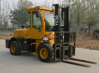 3T 4x4 articulated forklift