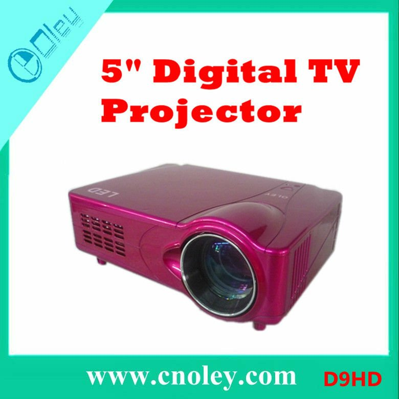 Portable HDTV Projector HDMI 1080P 1024*768