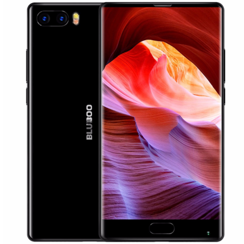 Bluboo S1 5.5'' FHD 4G Smartphone Bezel-less MTK6757 Octa Core Android 7.0 4GB RAM 64GB ROM Dual Rear Camera Mobile <strong>Phone</strong>