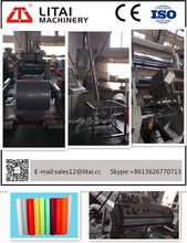 TJ-670 single screw PS sheet extruding Plastic Machine for Making PP Sheet/Granule
