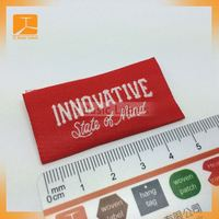 2014 new design charm woven labels