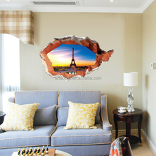 3D Living Room Decor Removable Wall Stickers Technology