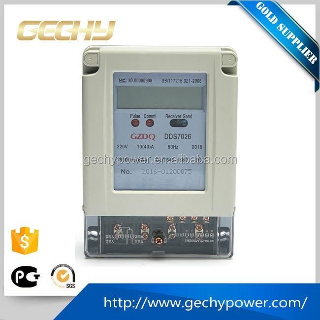 DDS Single phase electricity kwh meter energy meter