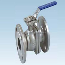 Much standard flange connection high quality base on best price stainless steel 1.4408 flanged ball valve