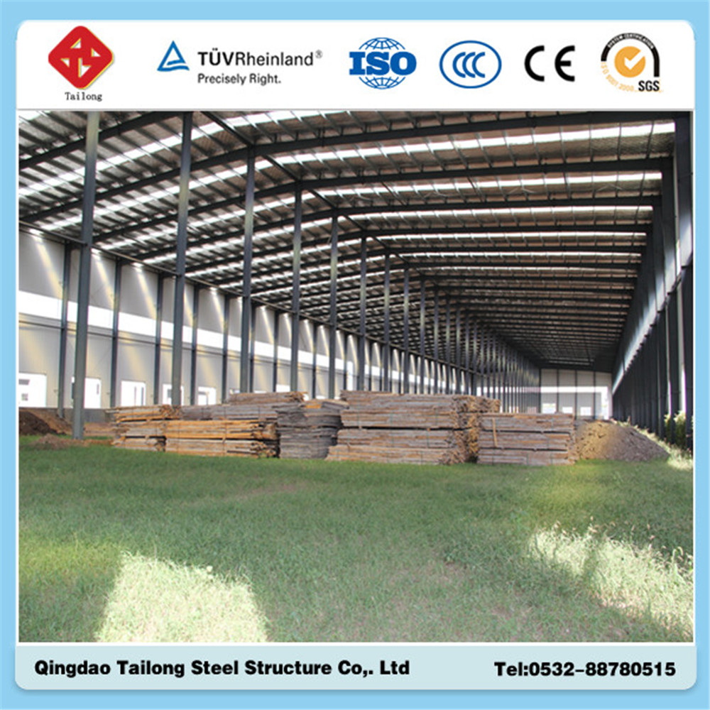 prefabricated construction steel structure warehouse building