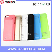 cover power case backup for iphone 6/high quality pu leather mobile phone case for iphone 6 case