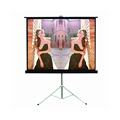 "outdoor mobile tripod stand projection screen 72""4:3"