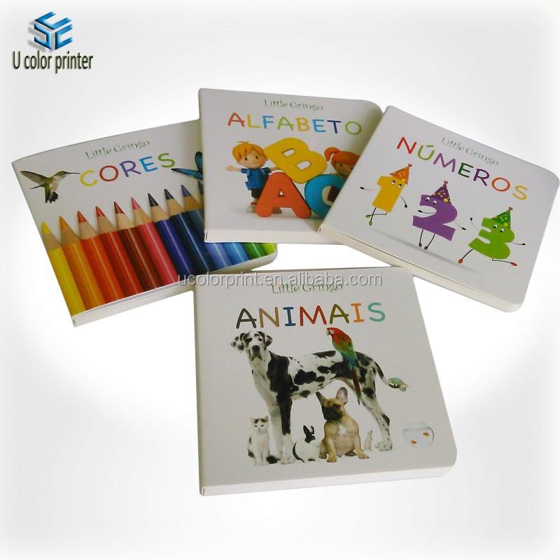 Professional Manufacturer Print Custom Children Board Book,Children ...