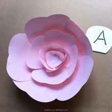 paper flower wall decoration for wedding