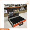 Custom Handhold Cardboard Acrylic Surface Stone Display Case for Stone Prmotion