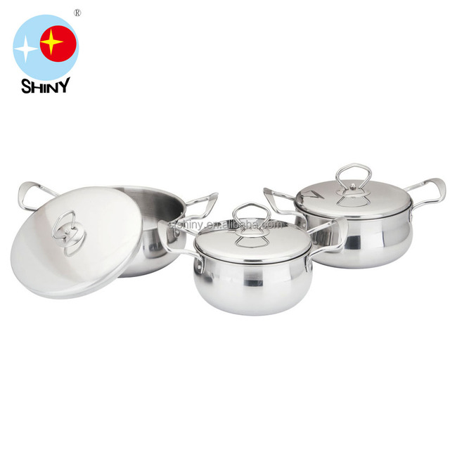 2017 new products cookware casserole with steel handle B077