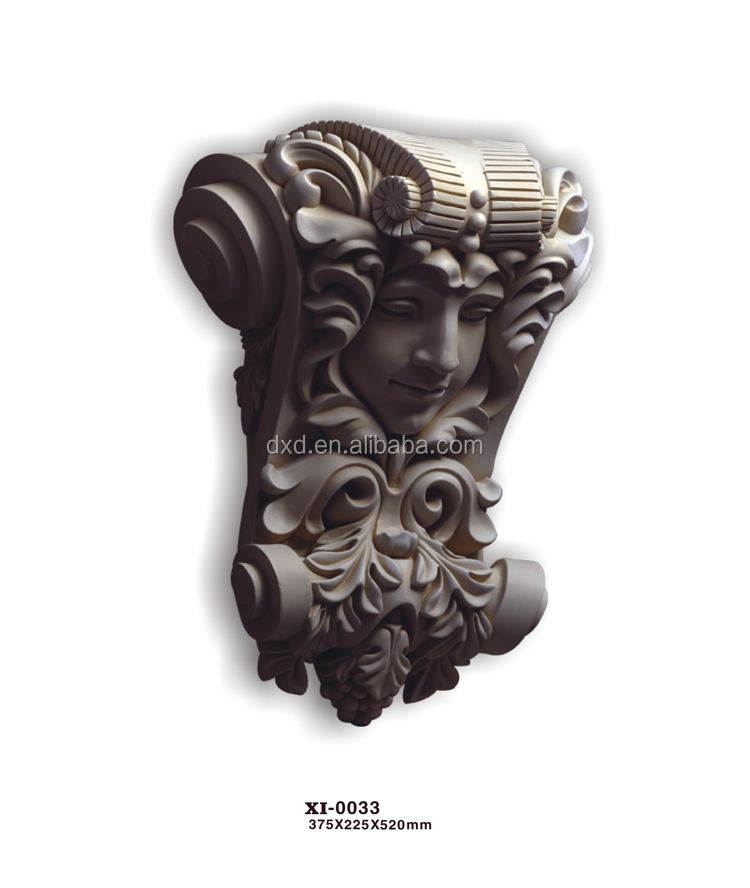 Factory price crown mould Decorative exotic corbels/ factory price decorative exotic corbels/ exterior corbels