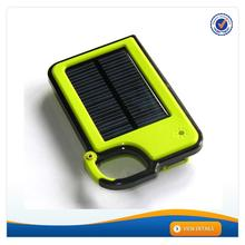 AWC627 External Portable Smart 1450mAh 5V mobile powerbank housing small appliance solar charger