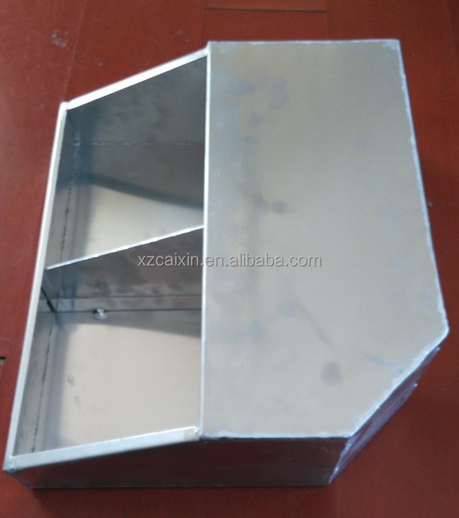 Custom welding metal aluminum small tool box