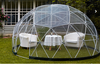 outdoor inflatable dome tent for family garden use