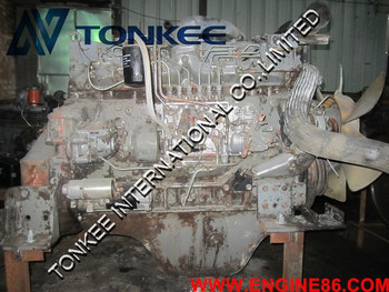 6SD1 Complete engine assy for EX300-2/3/5 EX310 Used&Original 6SD1 Complete engine assy