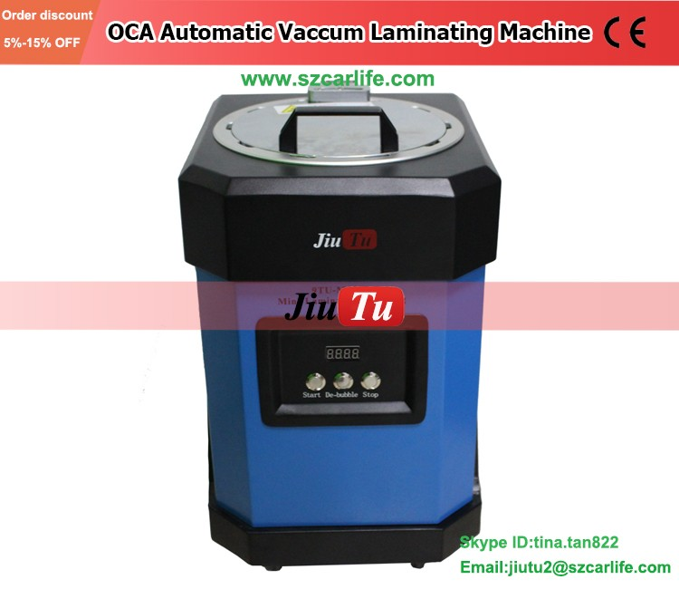Mobile Phone Repair Equipment All-in-One OCA Vacuum Laminating Machine With Bubble Remover Phone Repair Tool Kit