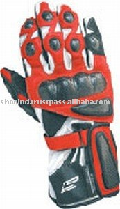 Leather Motorbike Racing Gloves,Biker Racer Gloves,Motocross Gloves