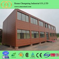 Cheap China renovated ISO cargo shipping container house for sale