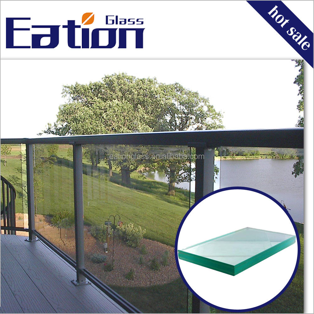 Eation high quality safety tempered laminated glass