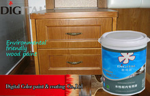 Waterbase color coating wood paint for nitro