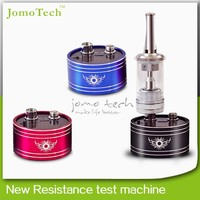 fashionable design jomotech new coming metal cartomizer and atomizer ohm meter